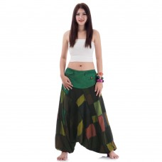 Hippie Aladdin Genie Jeans Green-Brown-Black FAPP775
