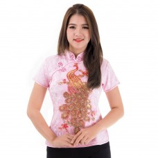 Pink Traditional Chinese Blouse QLGH7