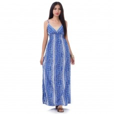 Long Summer Maxi Dress Blue