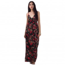 Long Summer Maxi Dress Black