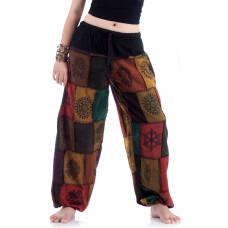 Patchwork Genie Pants, Harem Pants FAB680