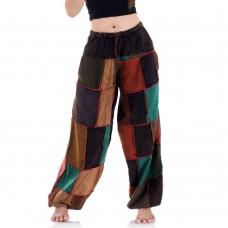 Patchwork Genie Pants, Harem Pants FAB685
