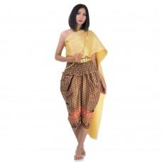 Thai Costume Traditional Thai Dress FATS8