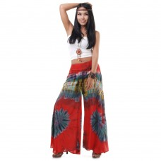Hippie Skirt pants, Wide leg pants Bohemian style