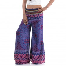Hippie Skirt pants, Wide leg pants FK397