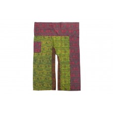 Patchwork Fisherman Pants FO172