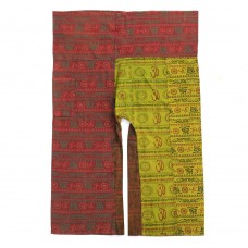 Patchwork Fisherman Pants FO174