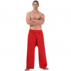 Thai Fisherman Pants Red