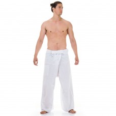 Thai Fisherman Pants White