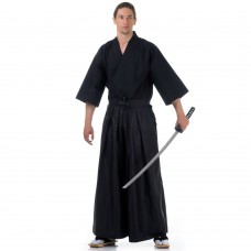 Men Samurai Costume Black