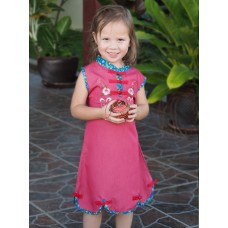 Qipao Chinese Dress for Girl QCkid4
