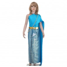 Thai Costume, Thai dress for Girl L THAI150