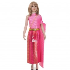 Thai Costume, Thai dress for Girl L THAI152