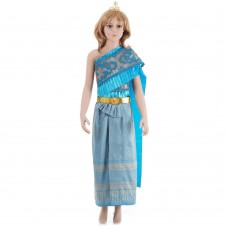 Traditional Thai Dress for Girl M