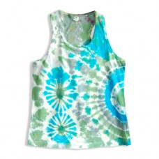 Hippie Tie Dye Sleeveless T-shirt for Kids RKM2