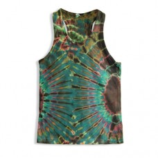 Hippie Tie Dye Sleeveless T-shirt for Kids RKM4