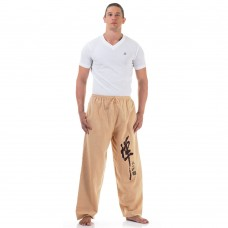 Beige Kung Fu Martial Arts Pants