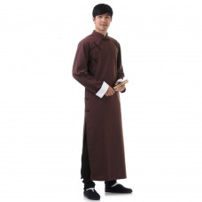 Men Robe Changshan Kung Fu Suit RML4