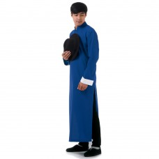 Men Robe Changshan Kung Fu Suit RML7