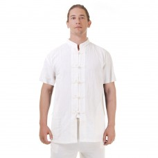 Short Sleeve Men Kung Fu Shirt