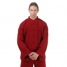Kung Fu Tai Chi Shirt Cotton Red