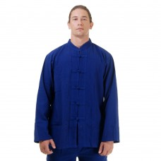 Kung Fu Tai Chi Meditation Shirt Blue