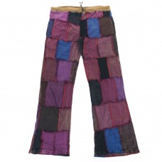 Patchwork Bell bottom  Jeans M 412