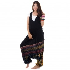 Batik Jumpsuit Jumper Overalls Harem Pants