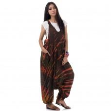 Batik Jumpsuit Jumper Overall Harem Pants