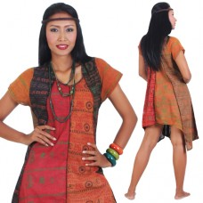 Hippie Bohemian Style Patchwork Women Tunic