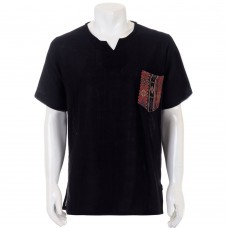 Hippie Casual Short Sleeve Batik Shirt