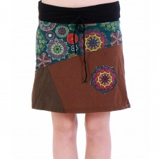 Knee A-line  skirt KP297