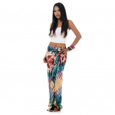 Tie Dye Sarong Pareo Cover Up XL