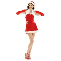 Christmas Costume Mrs Santa Claus dress X-MAS857