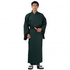 Japanese Men's Yukata Kimono Green XKM109