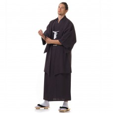 Japanese Samurai Kimono Brown Set