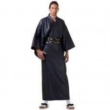 Men's Yukata Kimono Dark grey