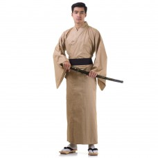 Men's Yukata Kimono Light Brown