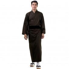 Men's Yukata Kimono Dark brown