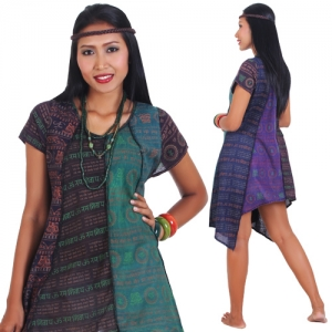 Hippie Bohemian Style Patchwork Tunic