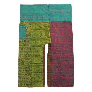 Patchwork Fisherman Pants FO175