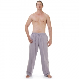 Blue Grey Kung Fu Martial Arts Pants