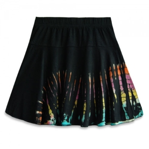Hippie Tie Dye Skirt for Girls SKK13