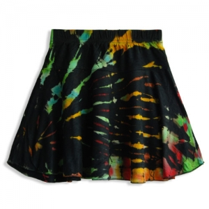 Hippie Tie Dye Skirt for Girls SKK10