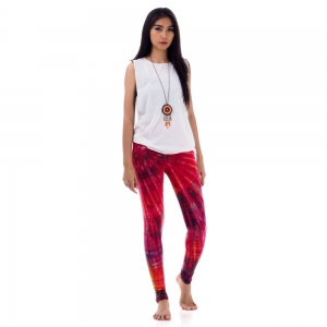 Tie dye batik leggings Pants