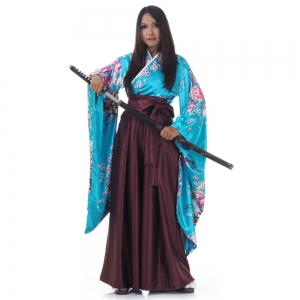 Woman Japanese Samurai Costume