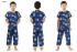 Boy Chinese Costumes Blue