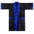 Japanese Reversible Satin Kimono Robe for Men