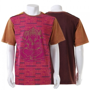 Hippie T-Shirt with cool prints
