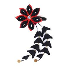 Flower hair clips for Japanese kimono, Flower74